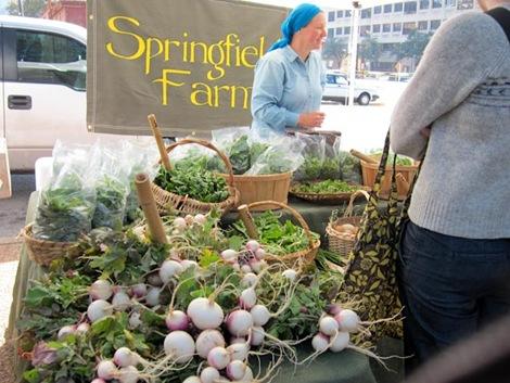 Springfield Farms, Austin Farmers Market